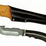 Как не стоит использовать дамасский нож