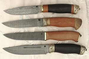 Эволюция ножей из дамасской стали