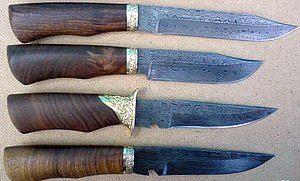 Секрет ножей из дамасской стали