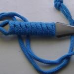 Как сделать ножи с шнуровой рукоятью самостоятельно